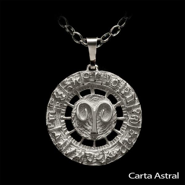 Colgante Carta Astral Aries