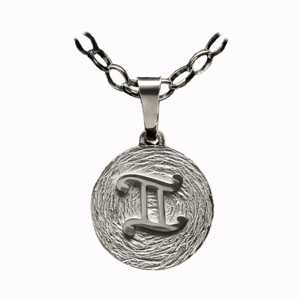 medalla plata geminis