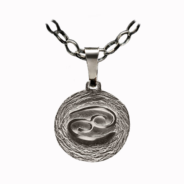 medalla plata cancer