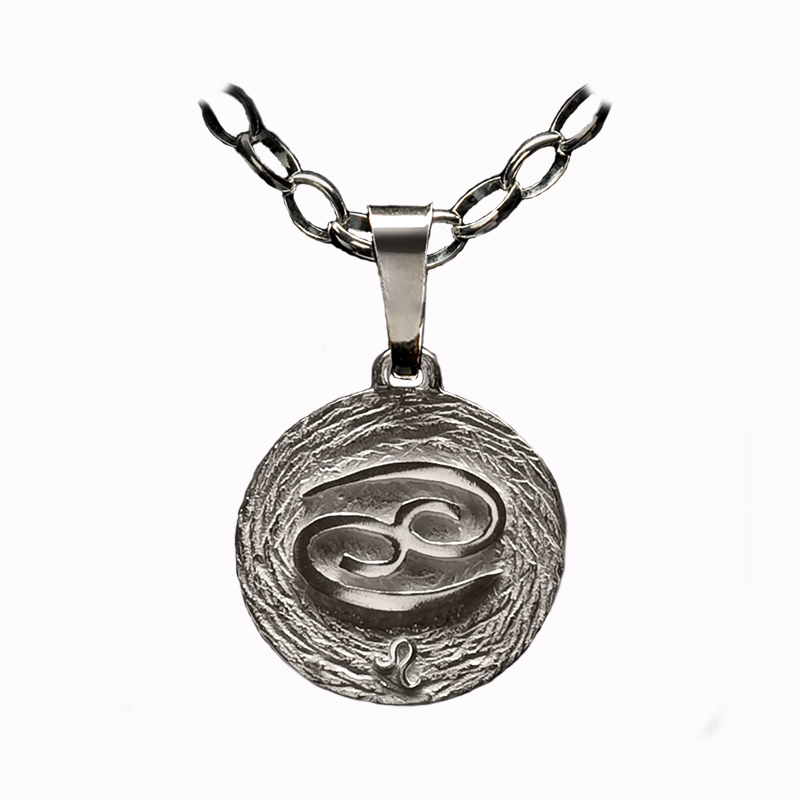 medalla plata cancer ascendente