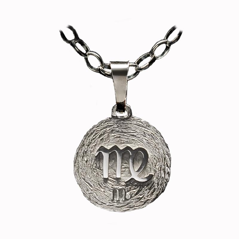 medalla plata virgo ascendente