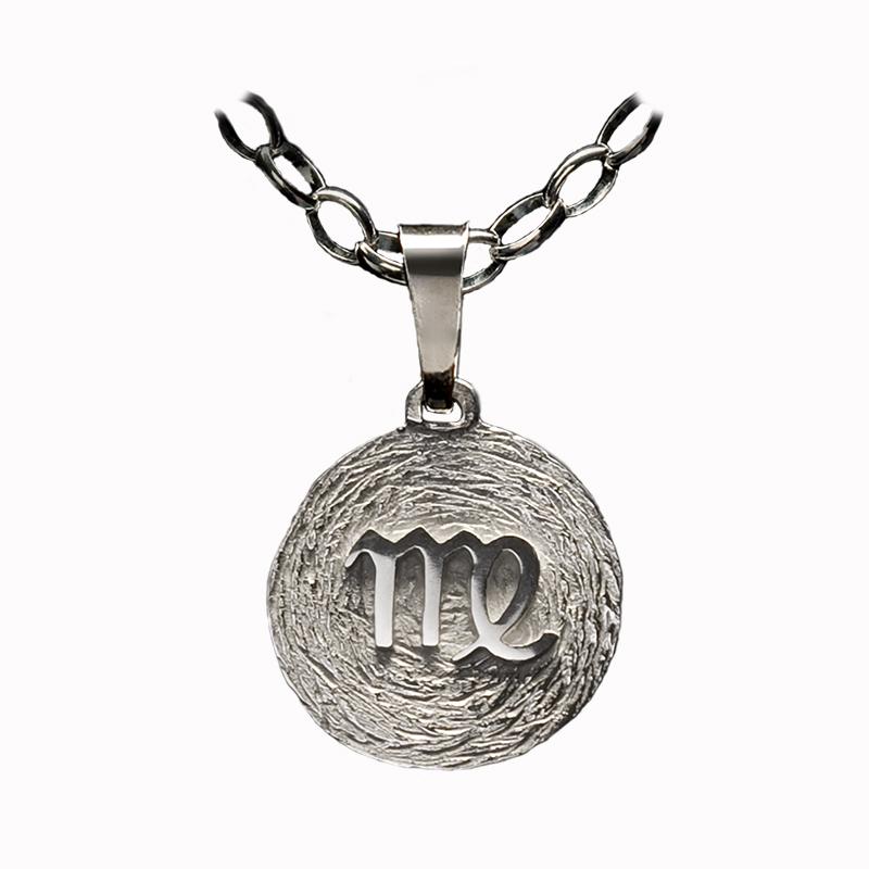 medalla plata virgo