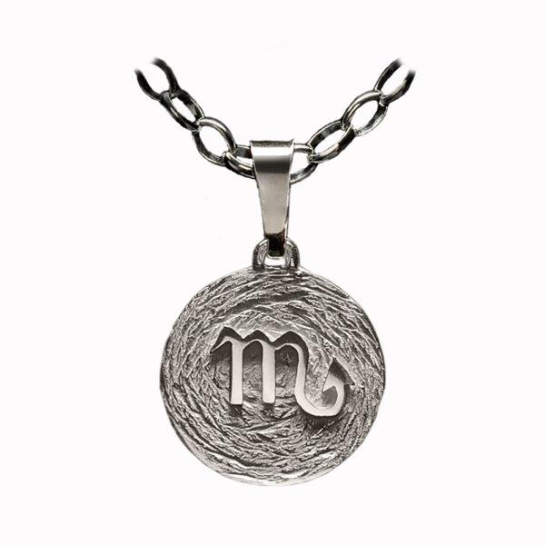 medalla plata escorpio