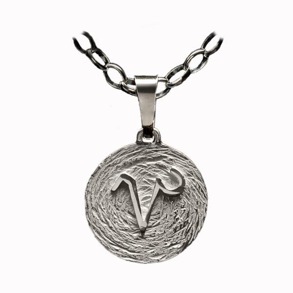 medalla plata capricornio