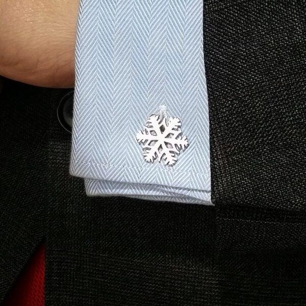 Gemelos de Plata Copo de Nieve