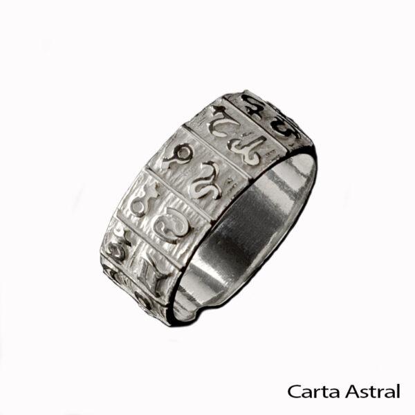 anillo carta astral