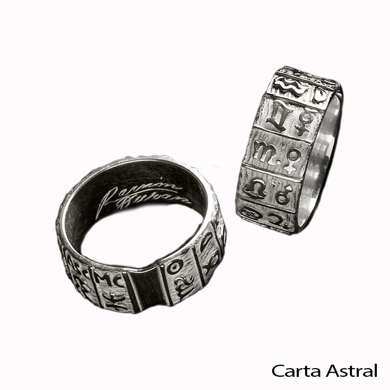 anillo carta astral