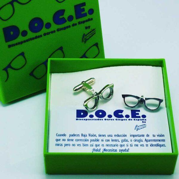 Gemelos-gafas-DOCE-estuche