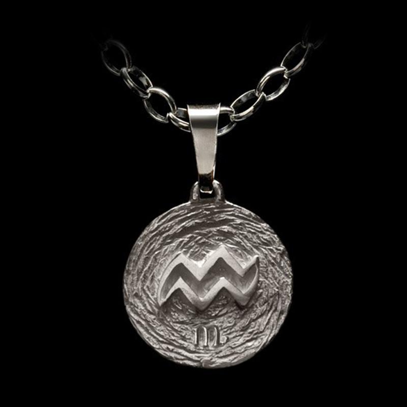 Medalla Acuario Ascendente