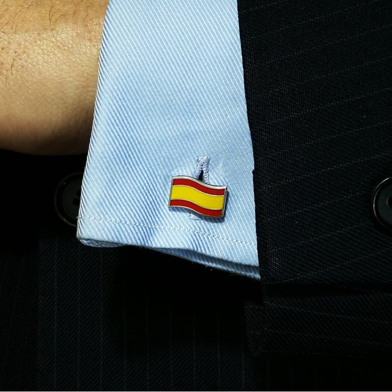 Gemelos de Plata Bandera de España