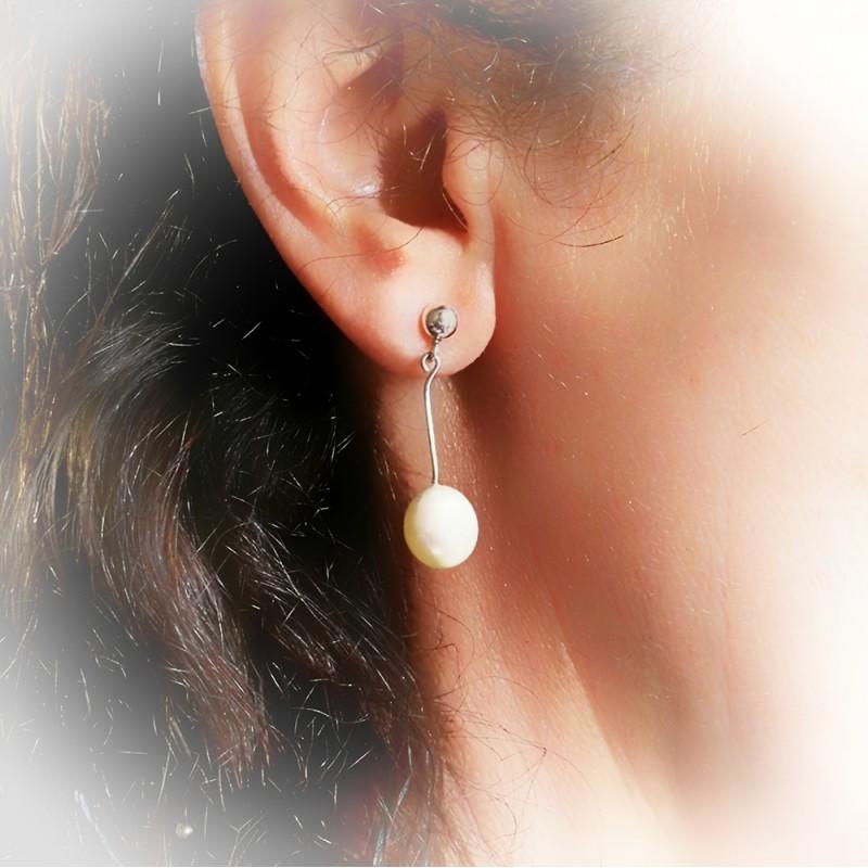 Pendiestes Plata, Perlas blancas