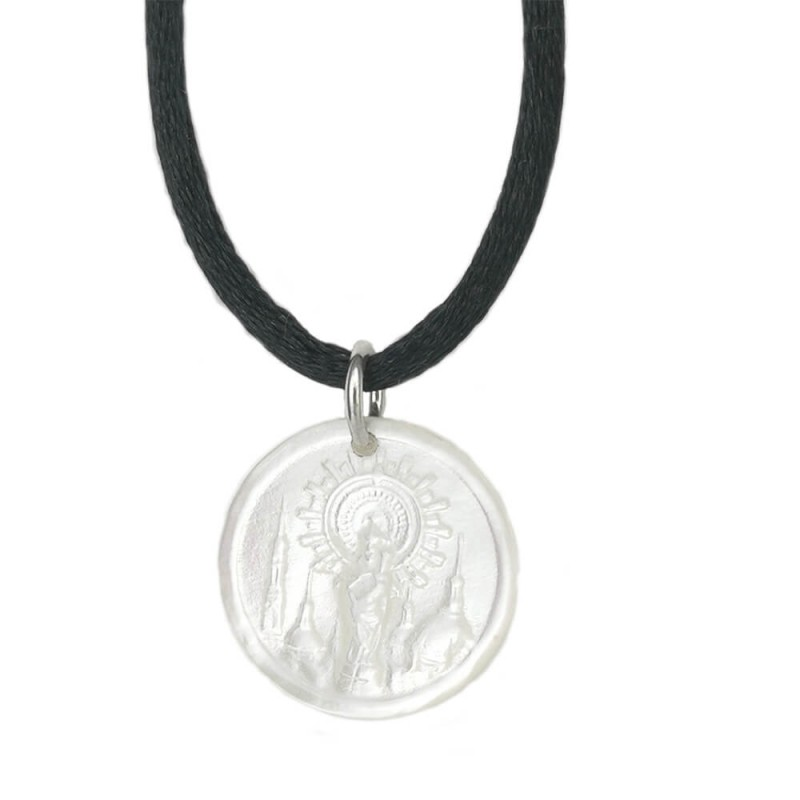 Medalla Nacar Virgen del Pilar