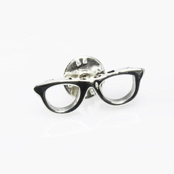 Pins de plata gafas D.O.C.E