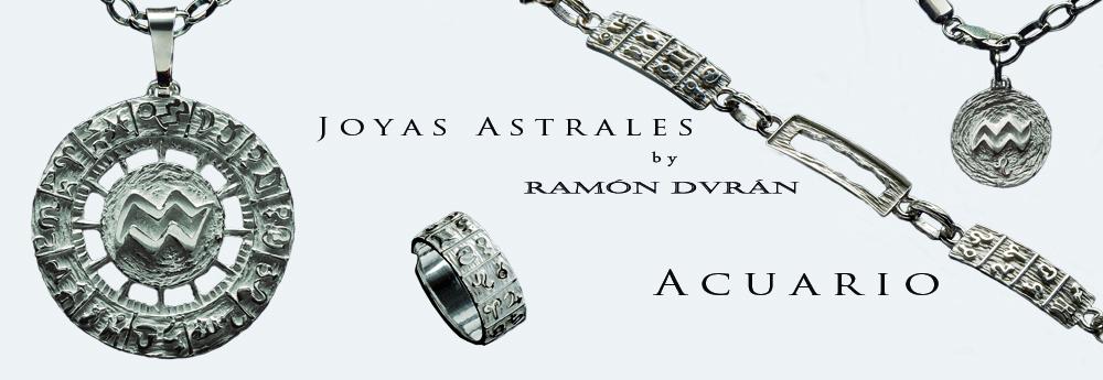 joyas de Acuario en plata