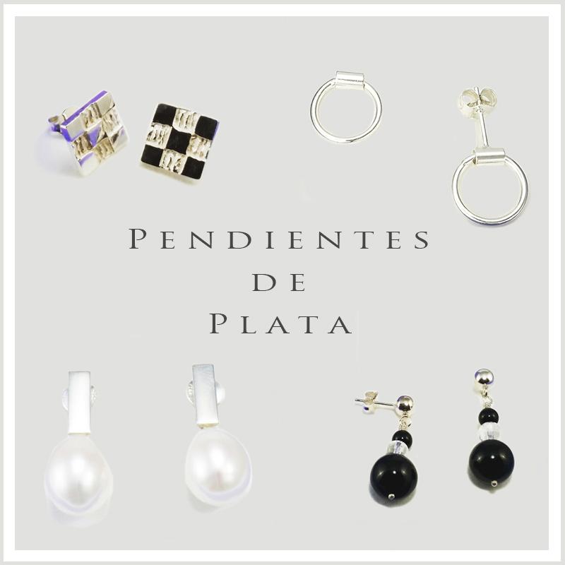 PENDIENTES DE PLATA