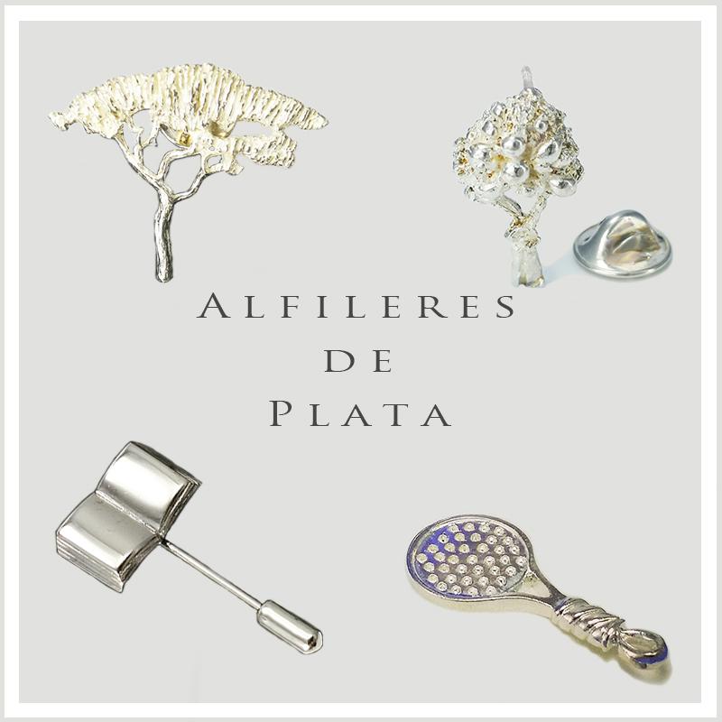 PINS Y ALFILERES DE PLATA
