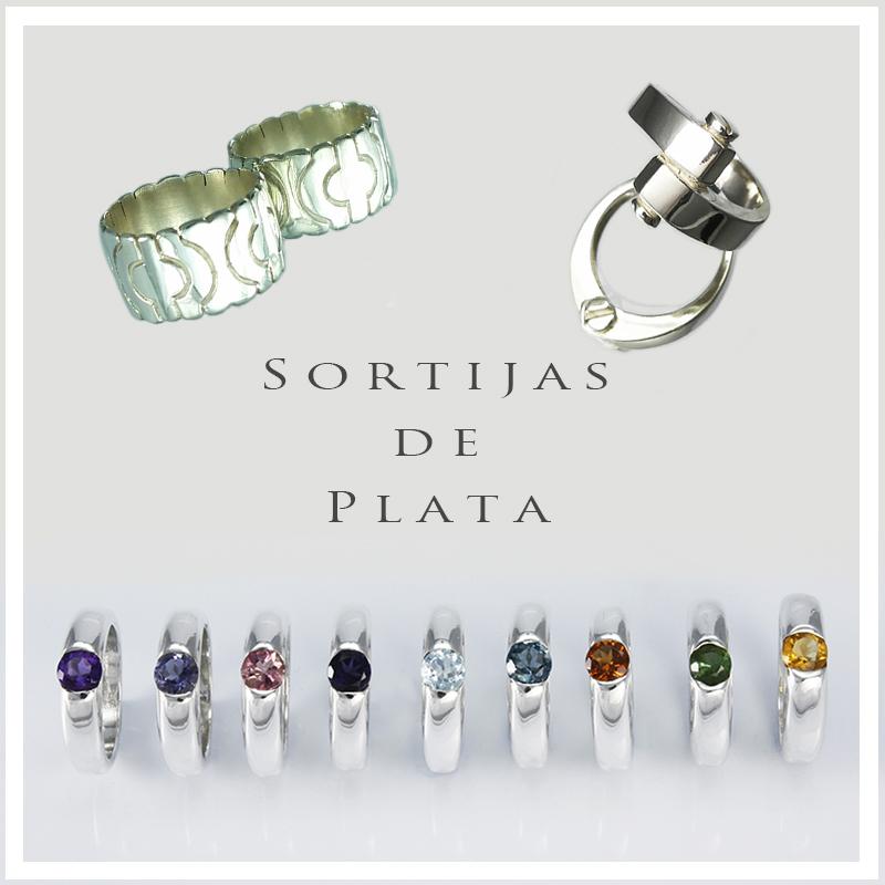 SORTIJAS DE PLATA