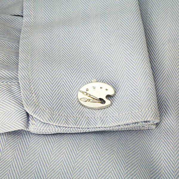 Gemelo-plata-paleta-pintor-camisa